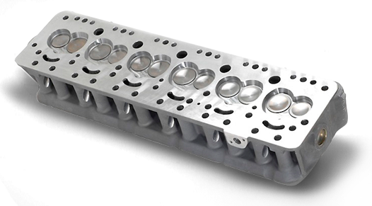 6 Cylinder CNC head porting | CNC Porting
